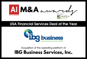 USA Financial Services Deal of the Year