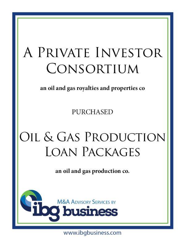 A Private Investor Consortium