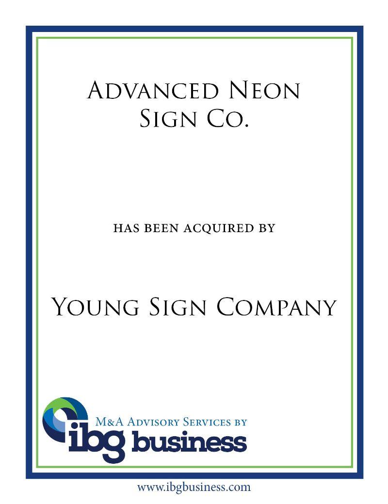 Advanced Neon Sign Co.