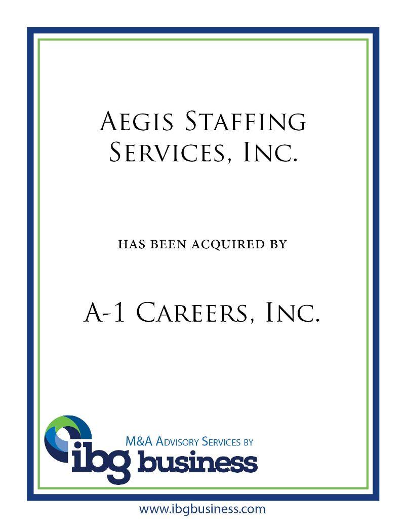 Aegis Staffing Services, Inc.
