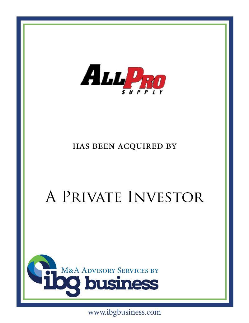 All-Pro Floorcare Supply, Inc.