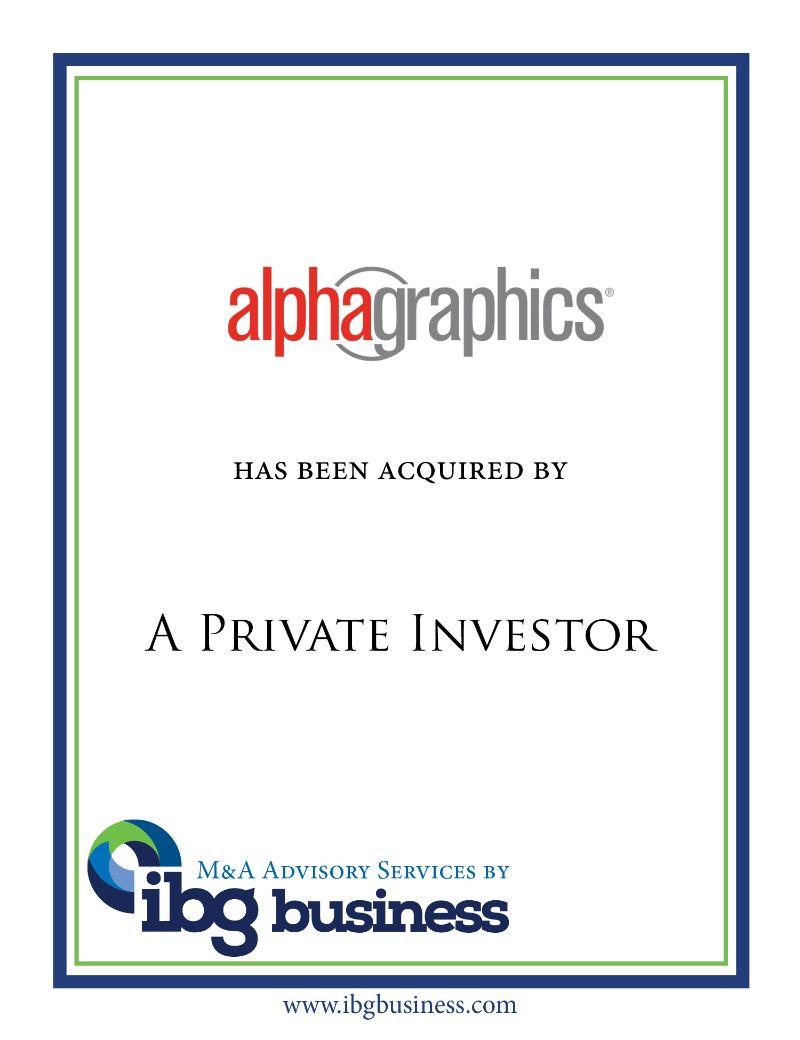 Alphagraphics Printshops