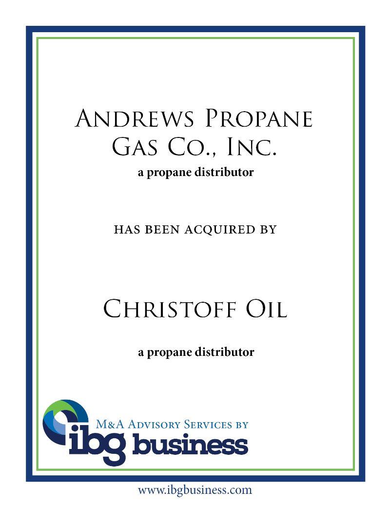 Andrews Propane Gas Co., Inc.
