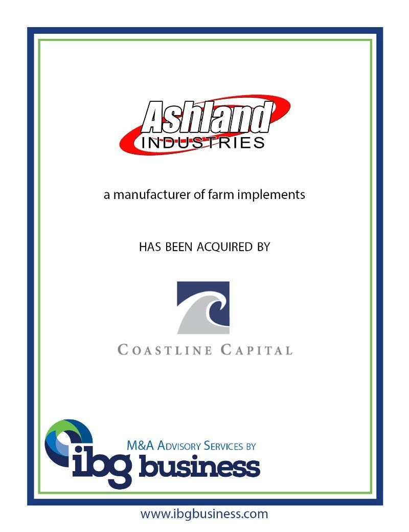 Ashland Industries, Inc.