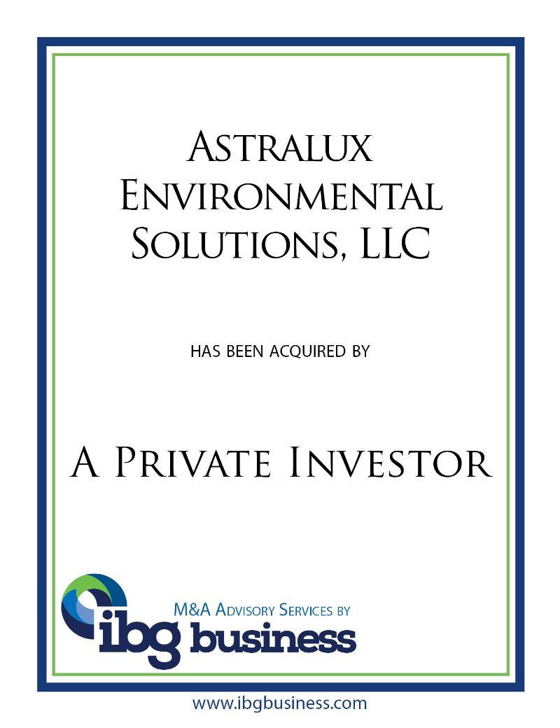 Astralux Environmental Solutions, LLC