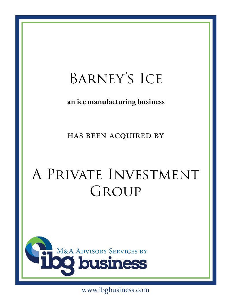Barney's Ice
