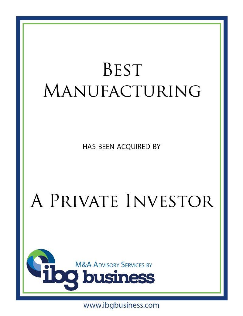 Best Manufacturing