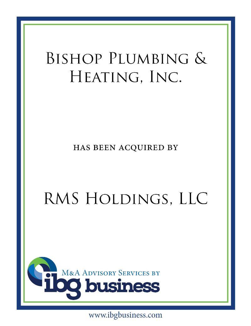 Bishop Plumbing & Heating, Inc.