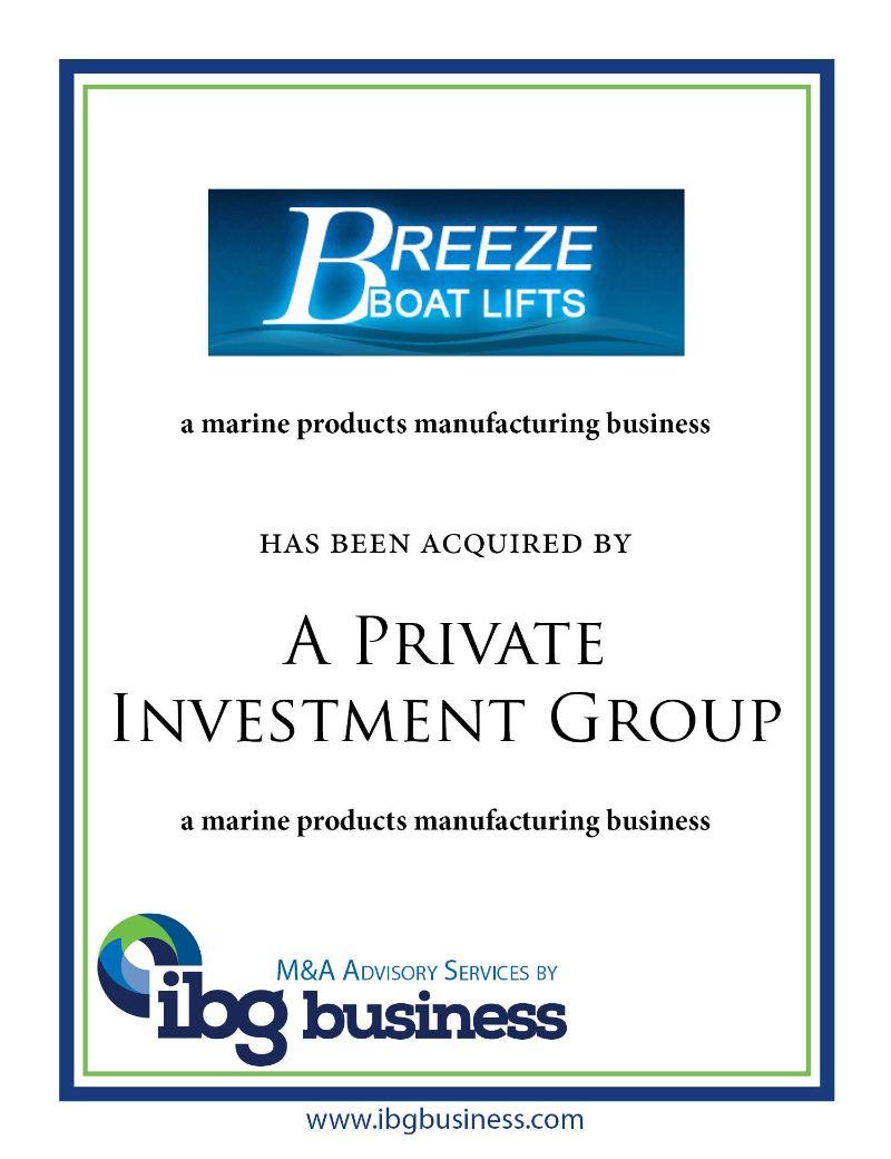 Breeze Boat Lifts