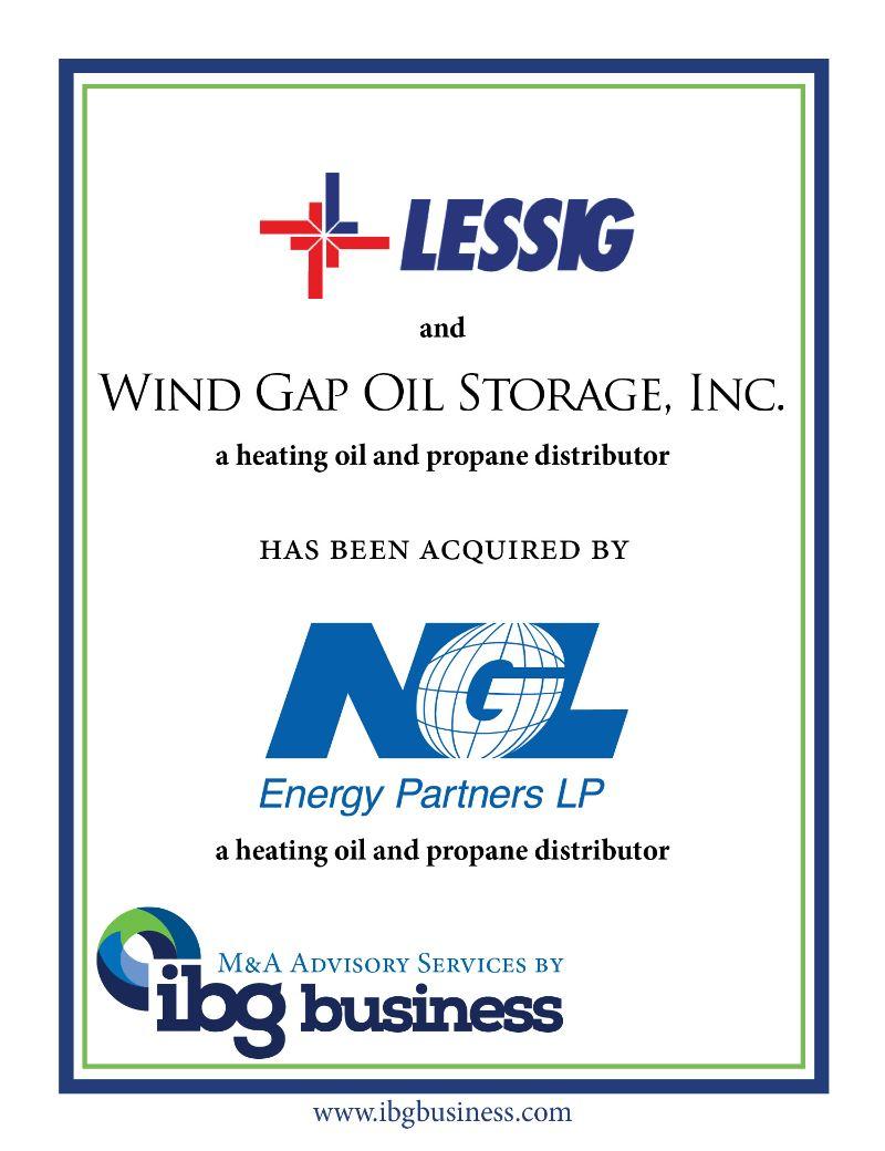 C.A. Lessig, Inc. & Wind Gap Oil Storage, Inc.