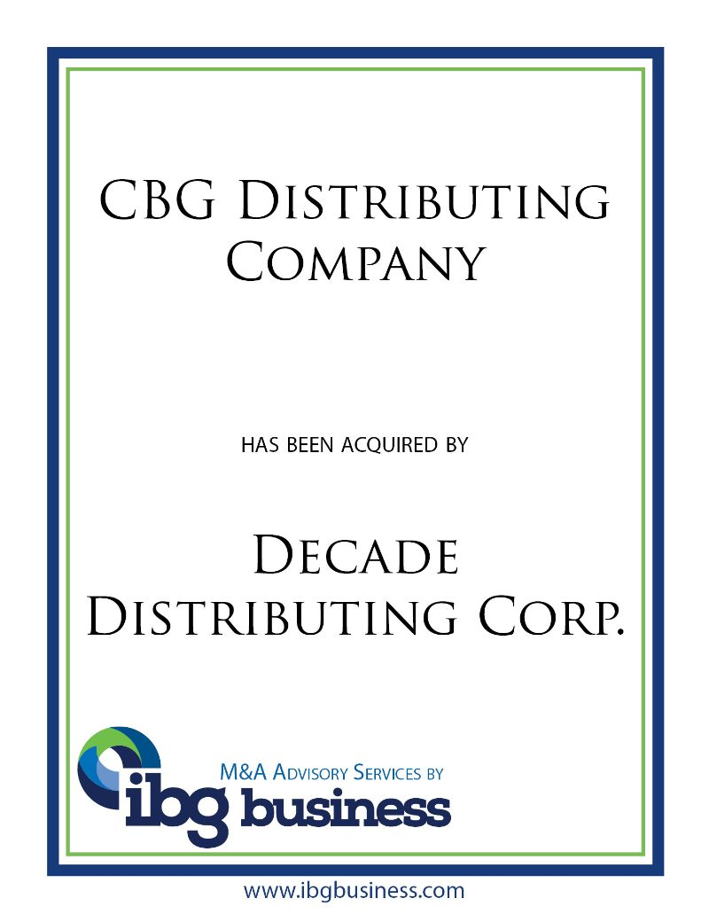 CBG Distributing Company