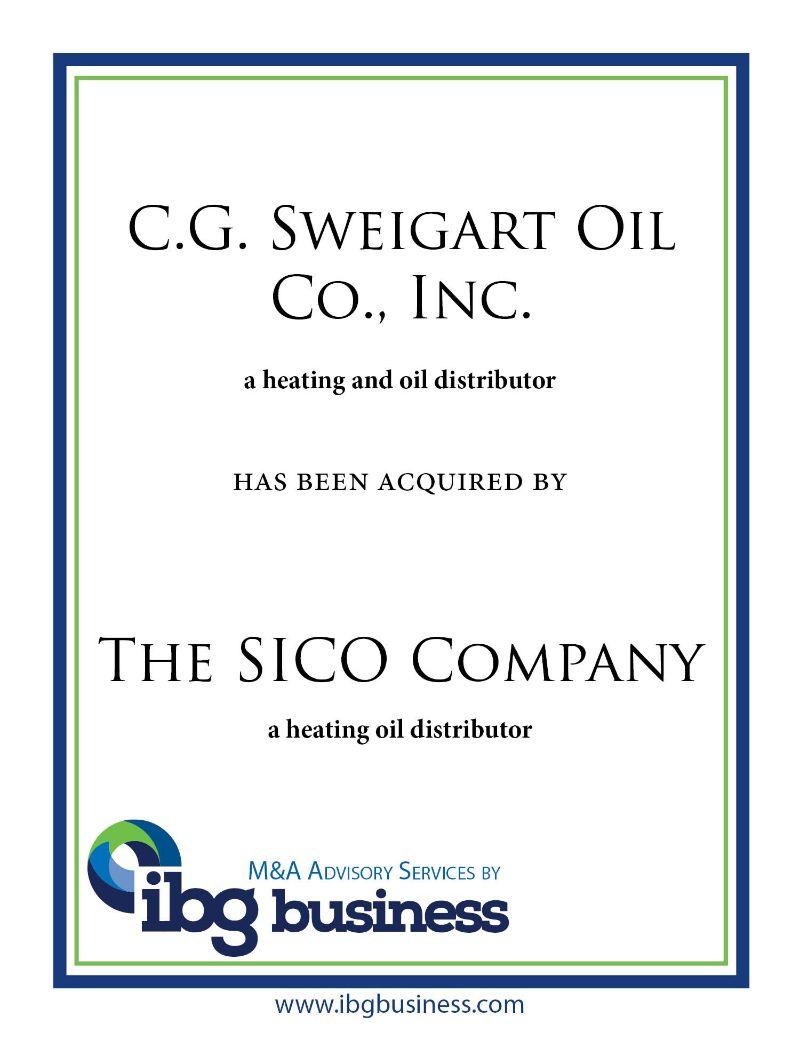 C.G. Sweigart Oil Co., Inc.