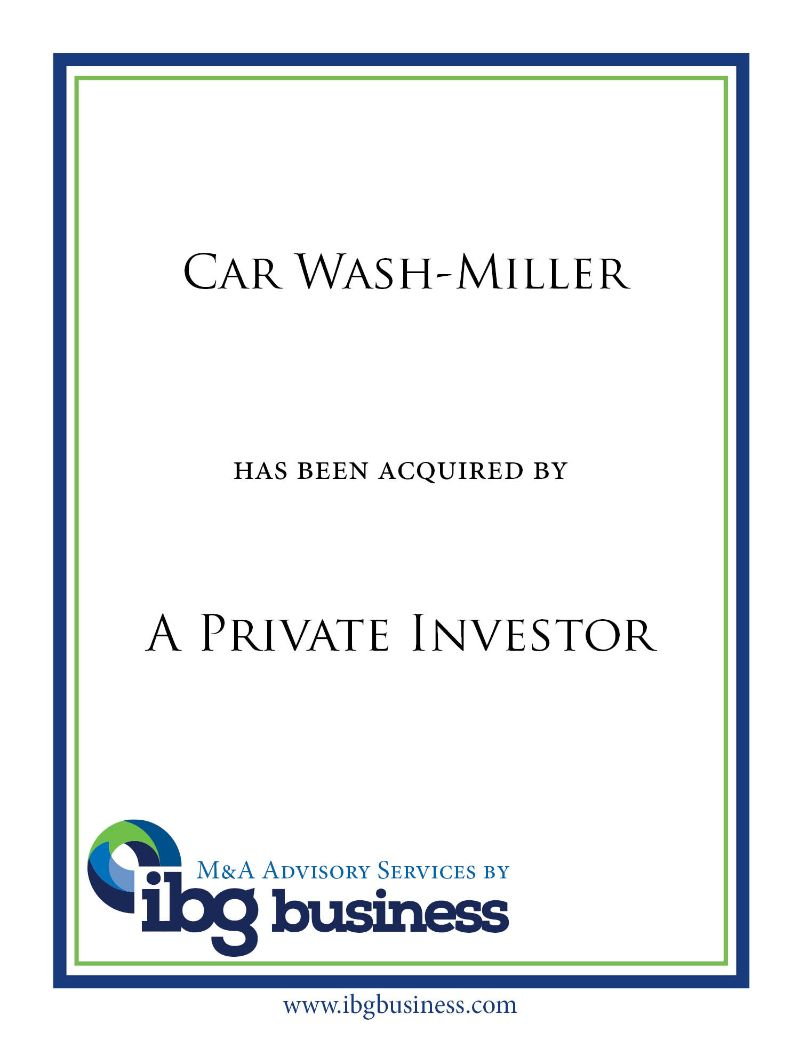 Car Wash-Miller