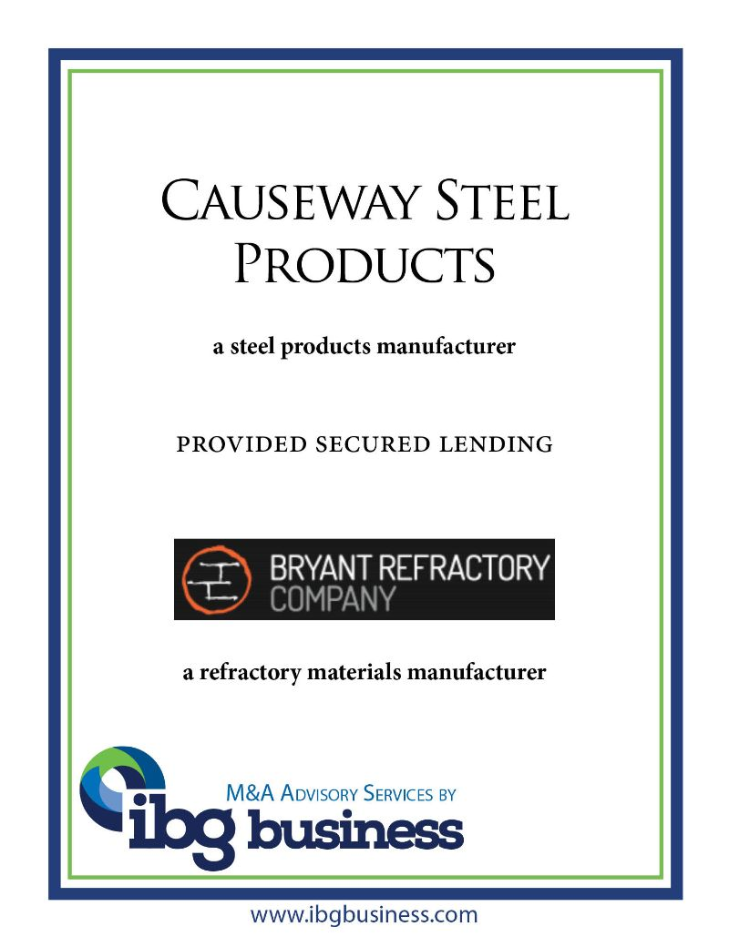 Causeway Steel Products