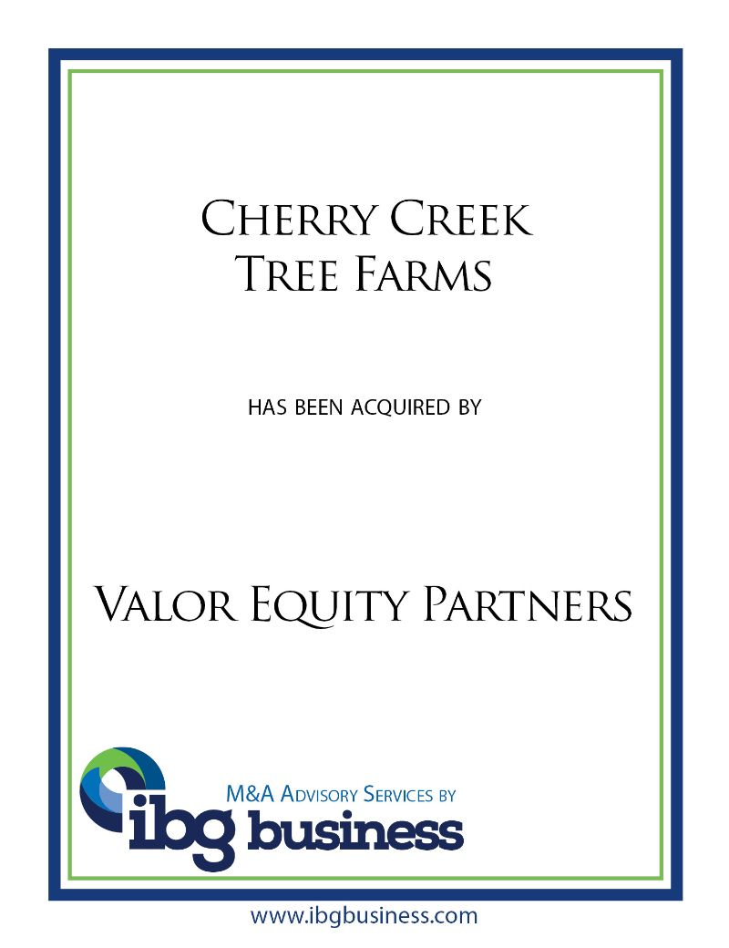 Cherry Creek Tree Farms