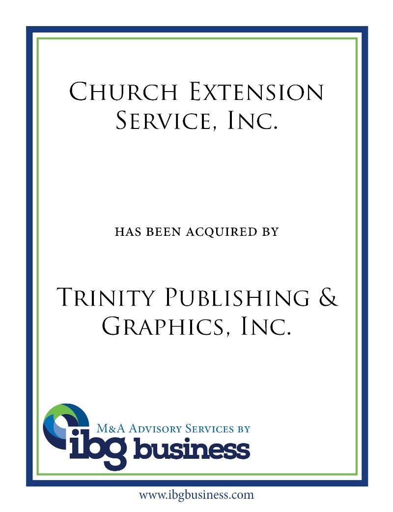 Church Extension Service, Inc.