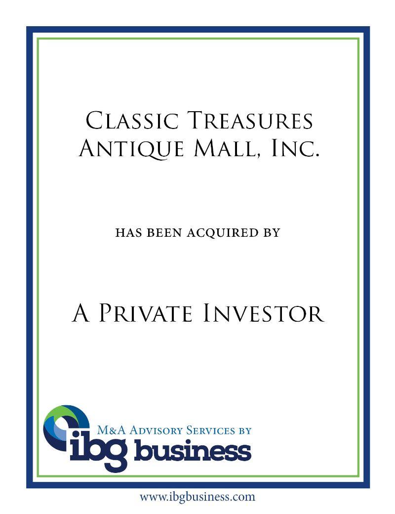 Classic Treasures Antique Mall, Inc.