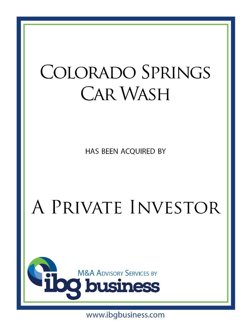 Colorado Springs Car Wash