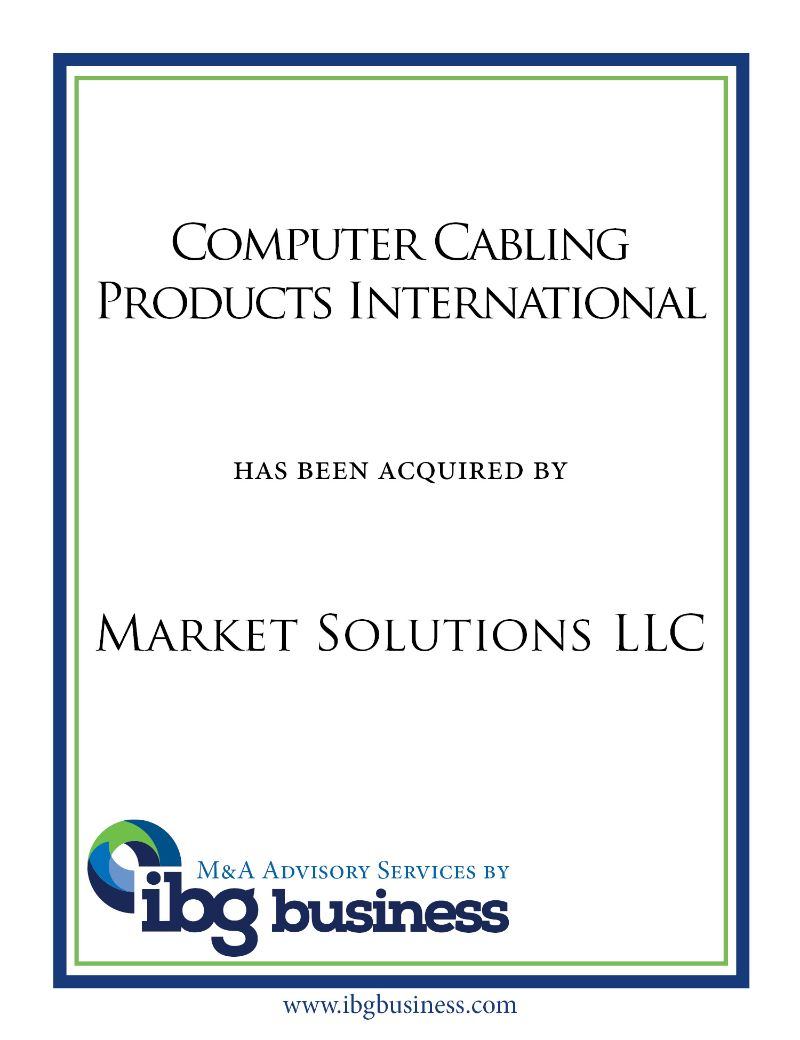 Computer Cabling Products International