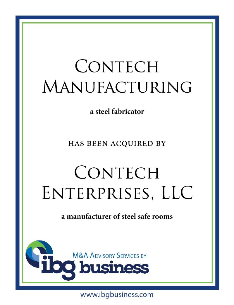Contech Manufacturing
