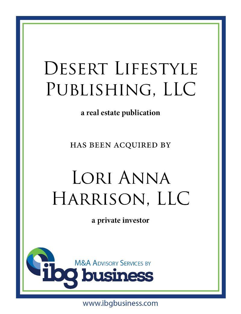 Desert Lifestyle Publishing, LLC