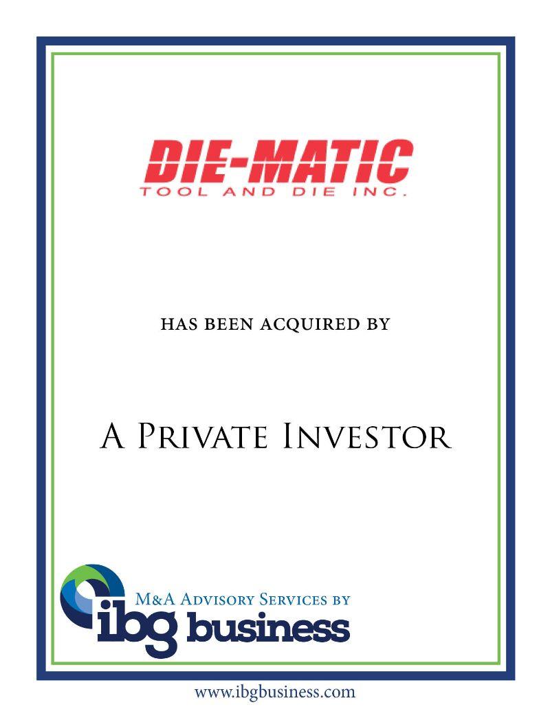 Diematics, Inc.