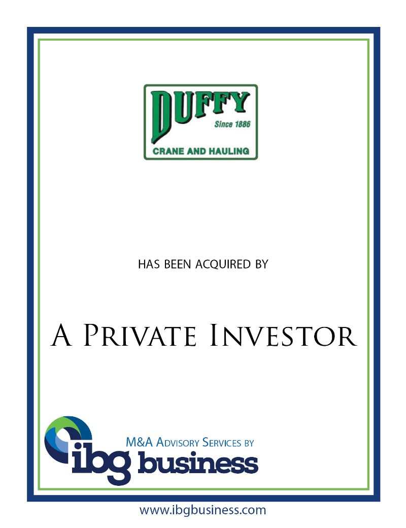 JD Duffy Crane & Hauling, Inc.