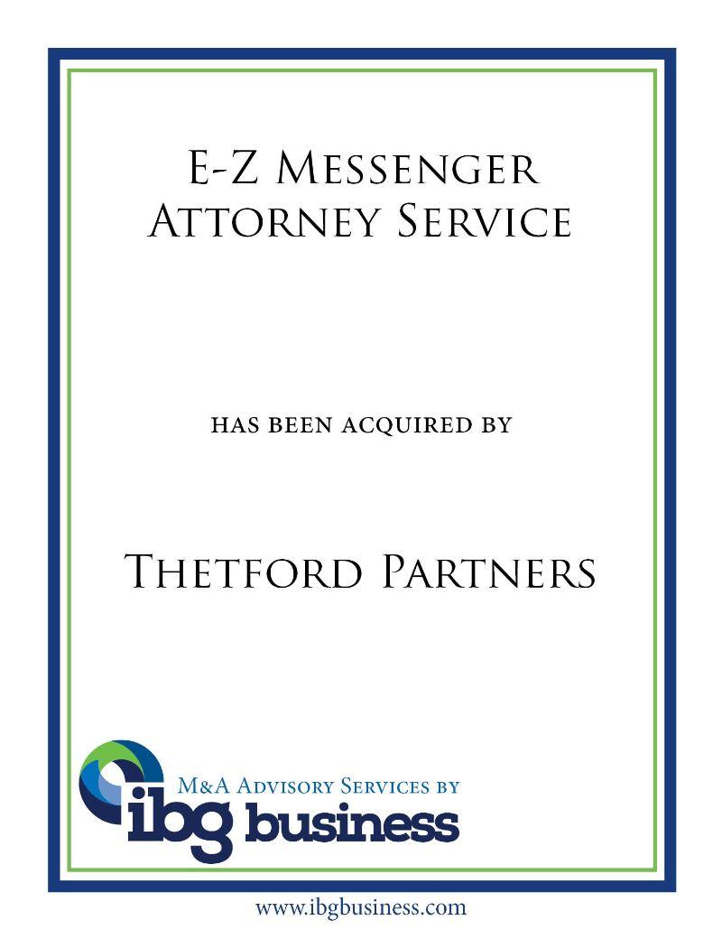 E-Z Messenger Attorney Service