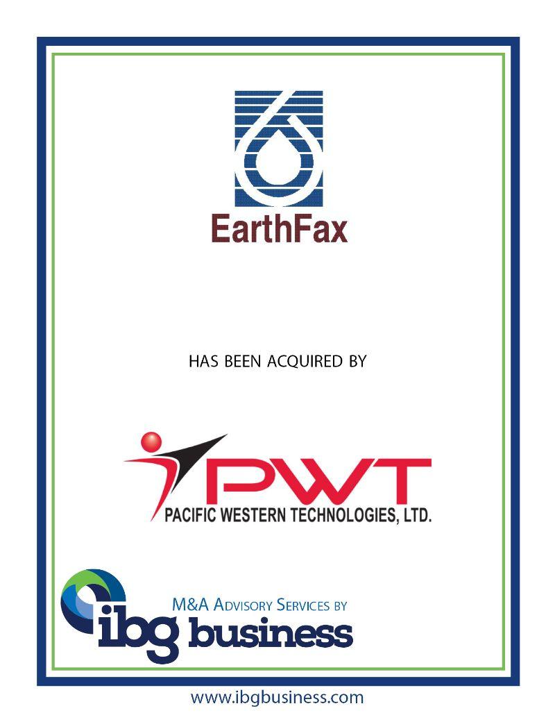 EarthFax Engineering, Inc.