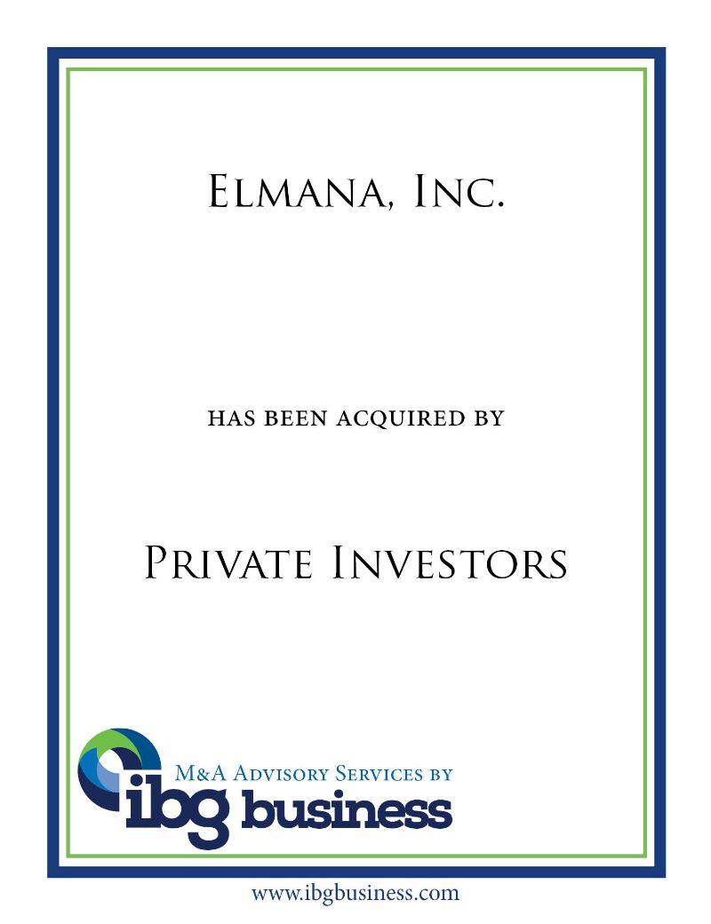 Elmana, Inc.