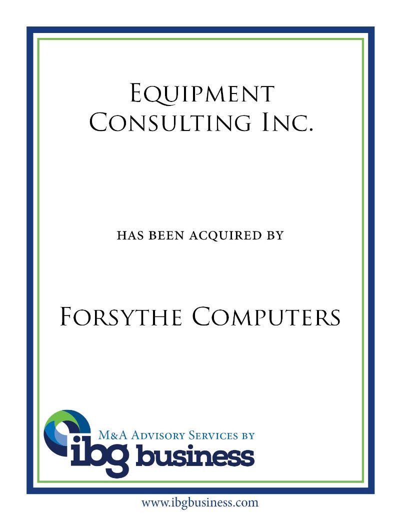 Equipment Consulting Inc.