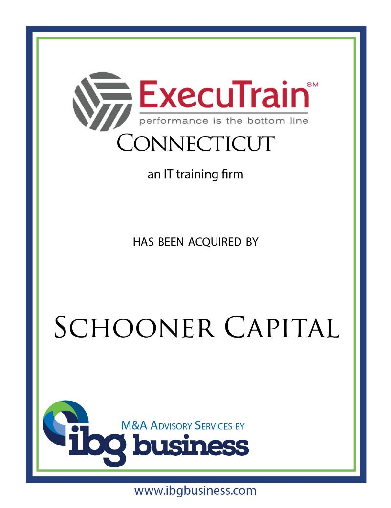 ExecuTrain, Inc. – Connecticut