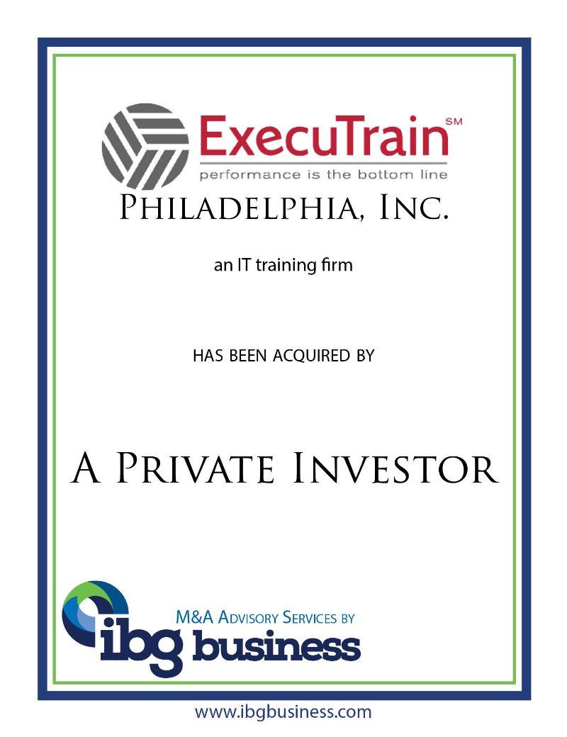 Executrain of Philadelphia, Inc.