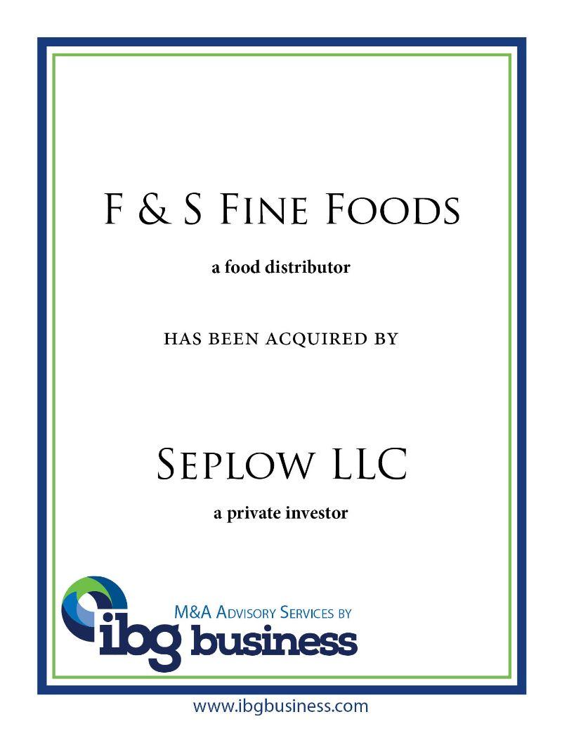 F&S Fine Foods