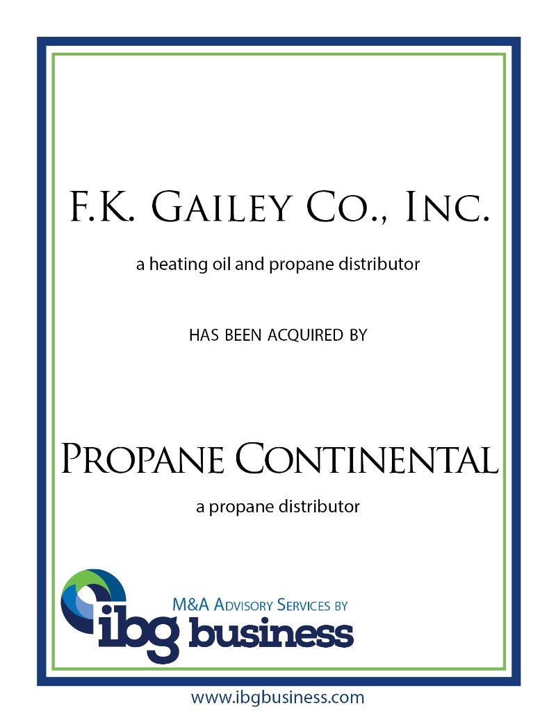 F.K. Gailey Co., Inc.