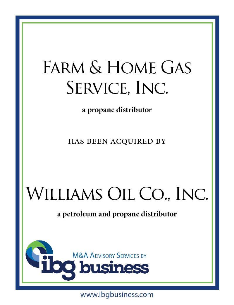Farm & Home Gas Service, Inc.