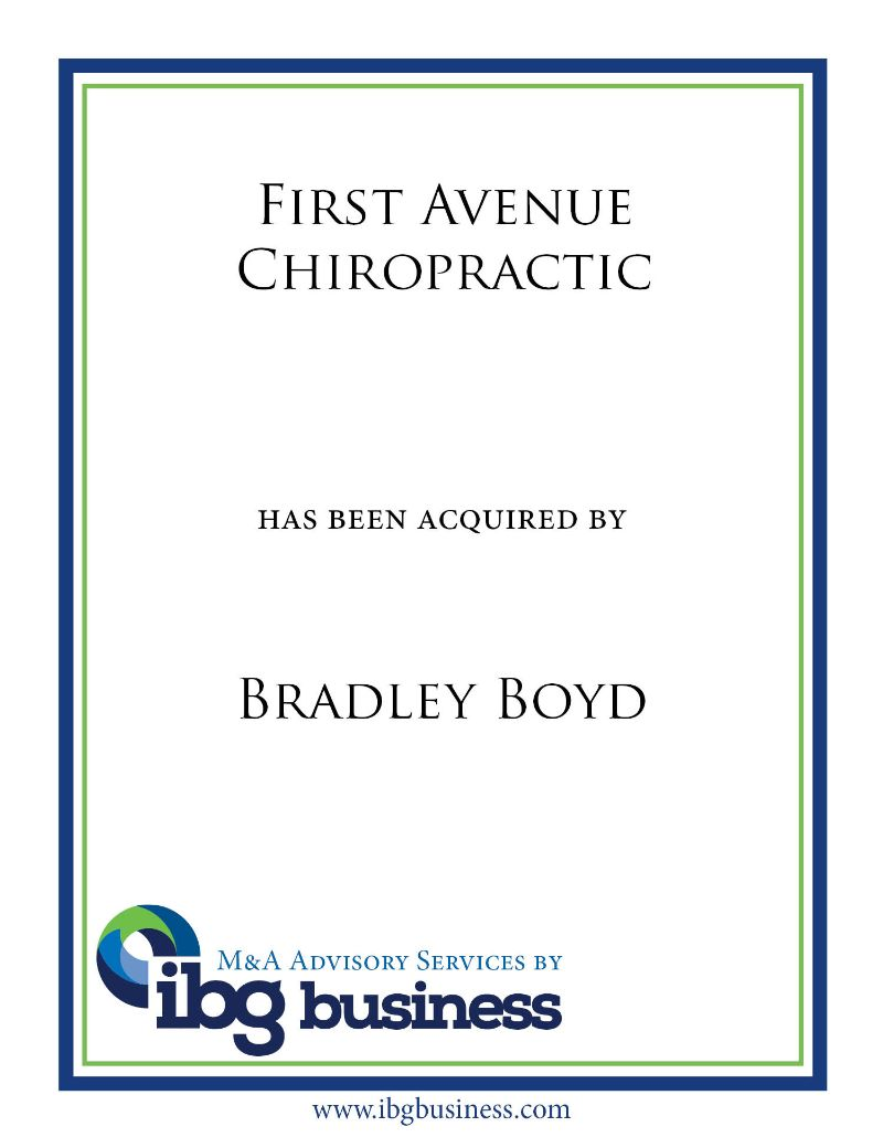 First Avenue Chiropractic