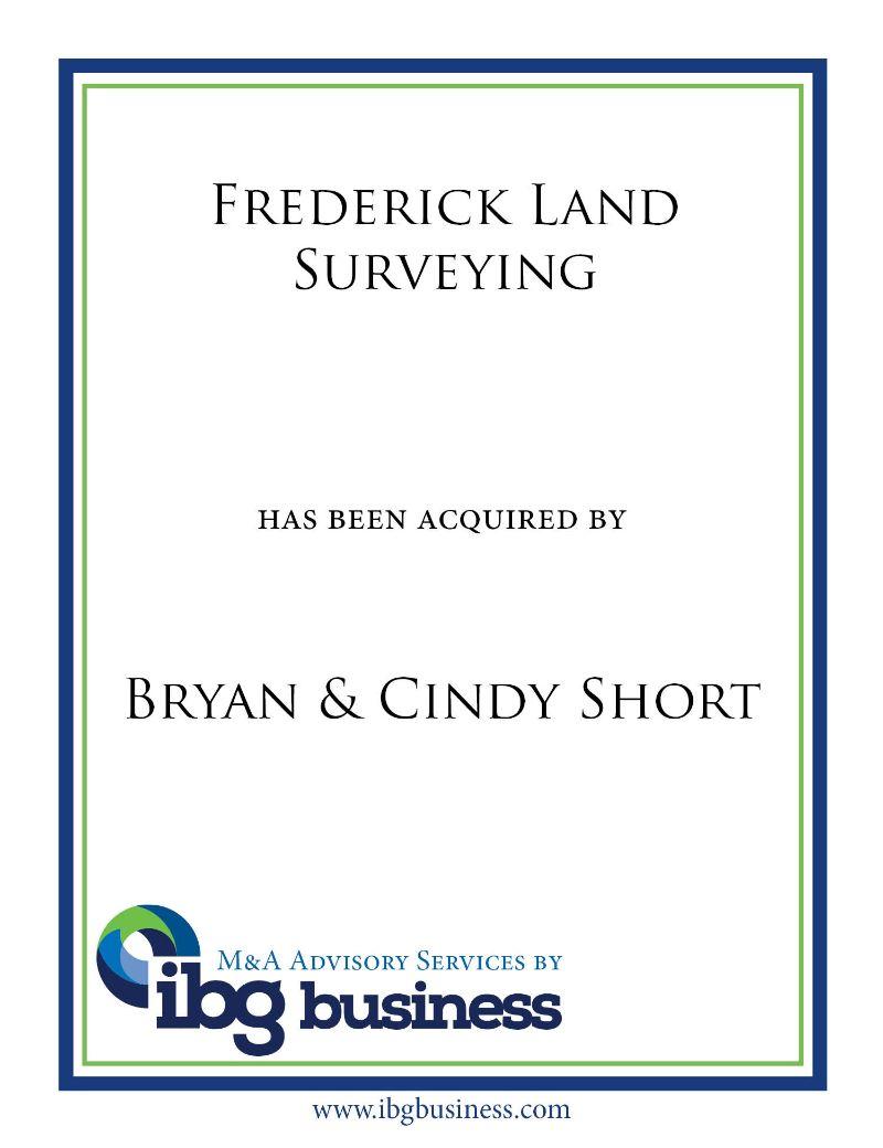 Frederick Land Surveying