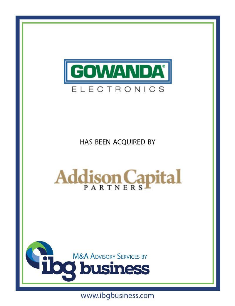 Gowanda Electronics Corp.