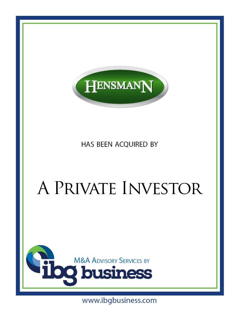 Hensmann Technology, Inc.