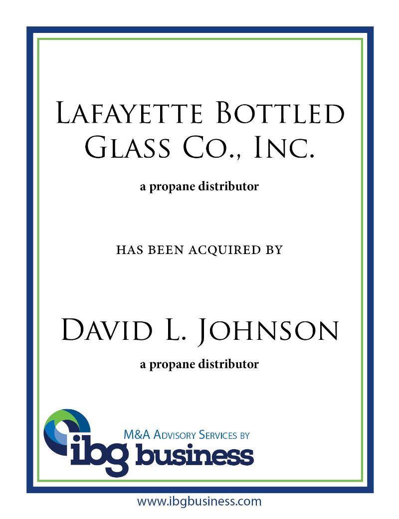 Lafayette Bottled Gas Co., Inc.