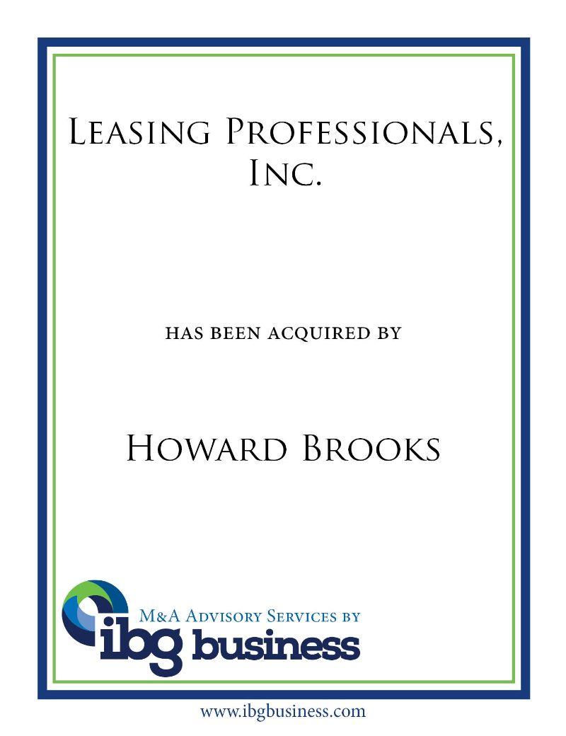 Leasing Professionals, Inc.
