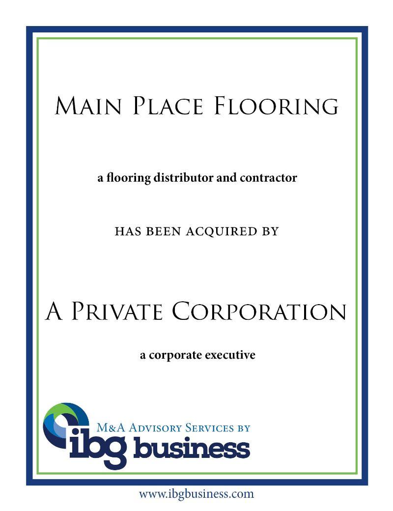 Main Place Flooring