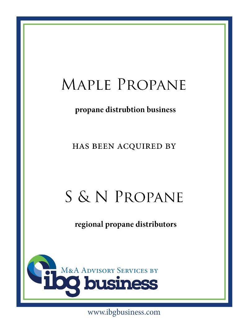 Maple Propane