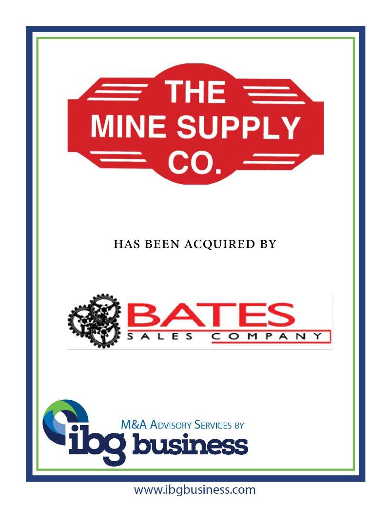 Mine Supply Co