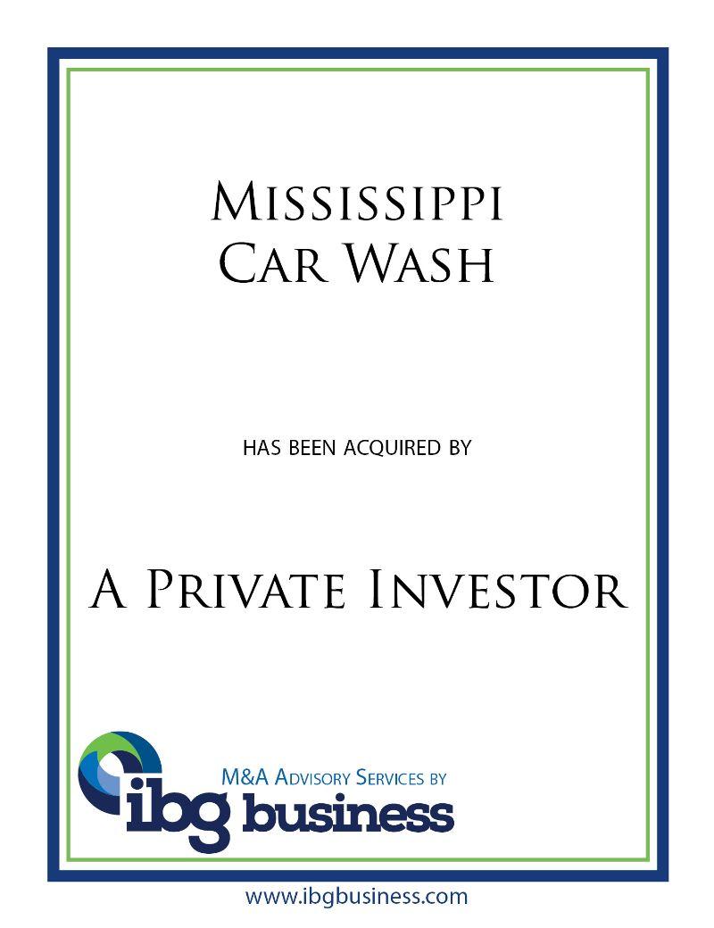 Mississippi Car Wash