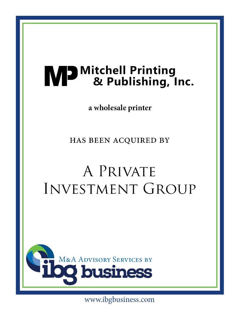 Mitchell Printing