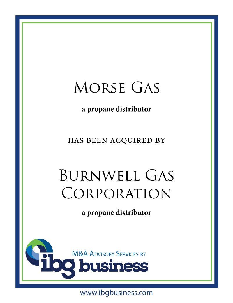 Morse Gas