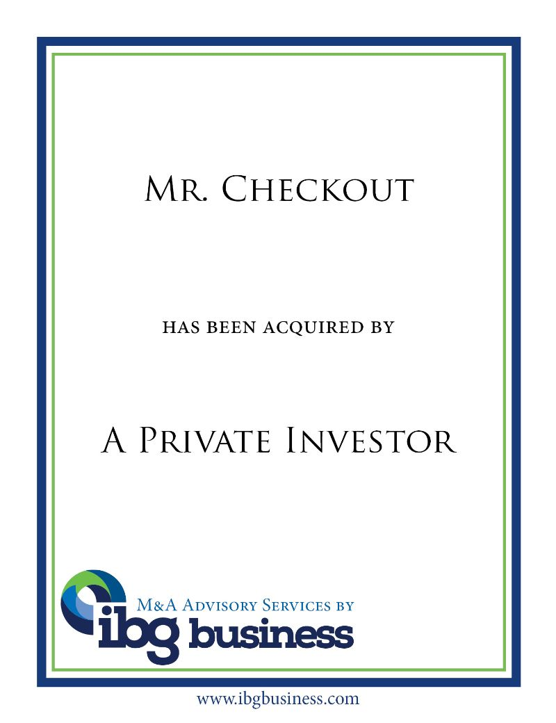 Mr. Checkout