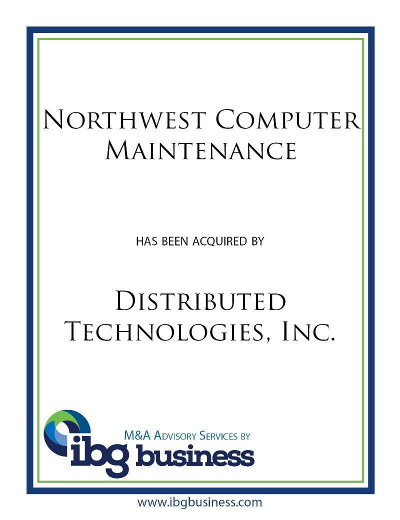 Northwest Computer Maintenance